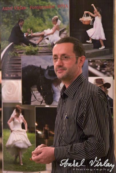 Aurel Virlan and Wedding Art Photography photo-exhibition