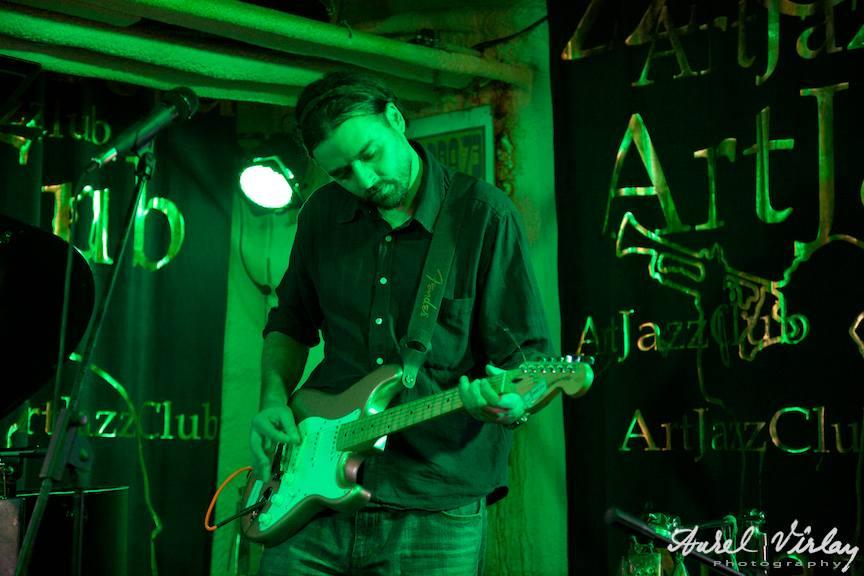 "Formatia ""ruePavlov"" | Fotografie in concertul live de la ArtJazz Club"