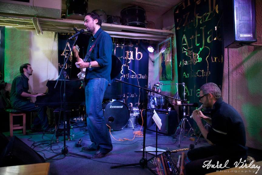 "Formatia ""ruePavlov"" | Fotografii din concertul live de la ArtJazz Club"