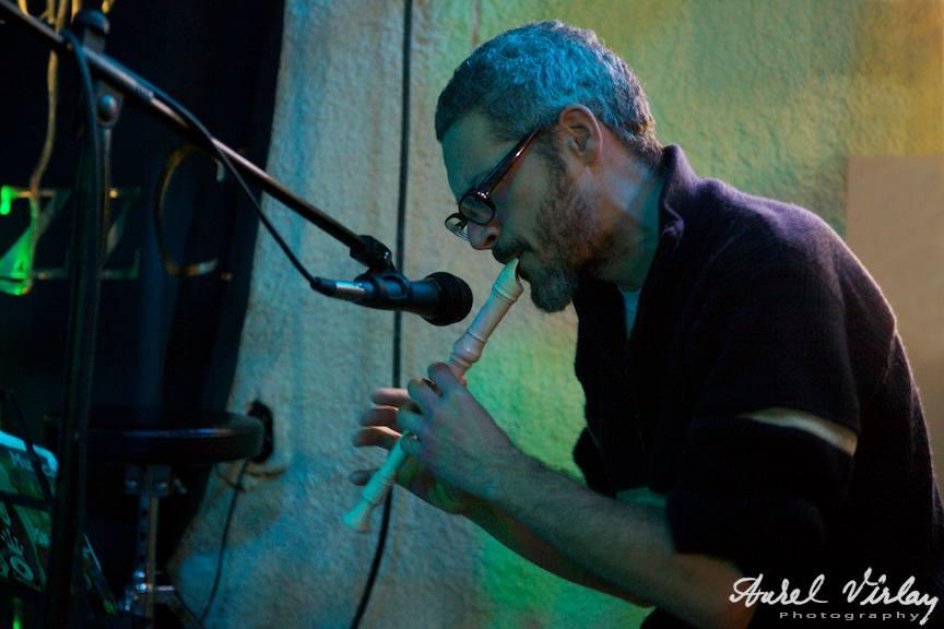"""Calin Torsan, fotografie din concertul """"ruePavlov"""""""