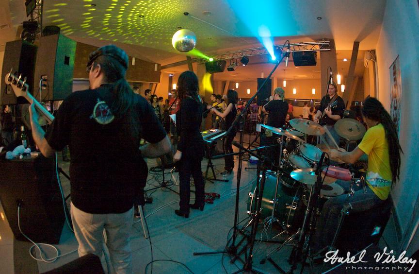 Formatia RetroFuture | Fotografie live concert