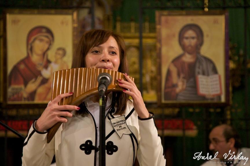 Cornelia Tihon, sau betia naiului | Fotografie din concert Bruxelles
