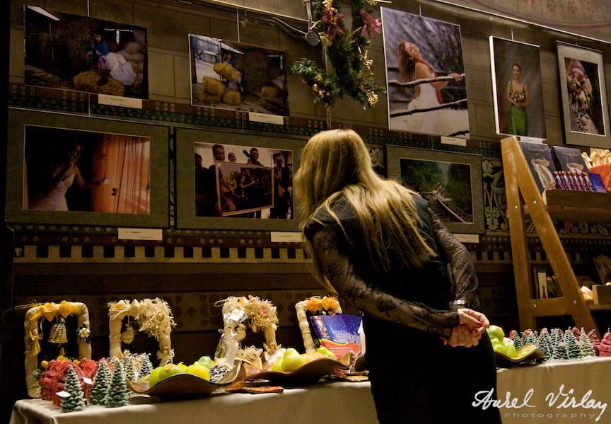 Expozitia fotografica iRo in Targul Romanesc de Craciun - Bruxelles