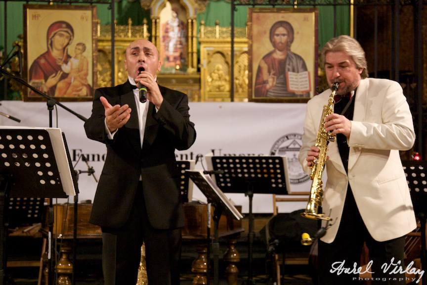 Fotografie din concertul Marcel Pavel - Orchestra Nationala de Folclor