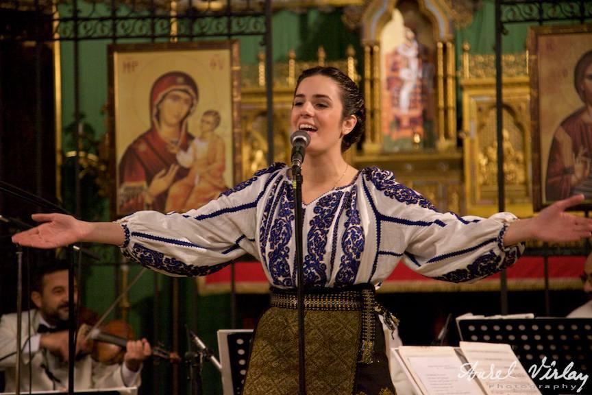 Irina Sarbu - voce | Fotografie din concert Bruxelles