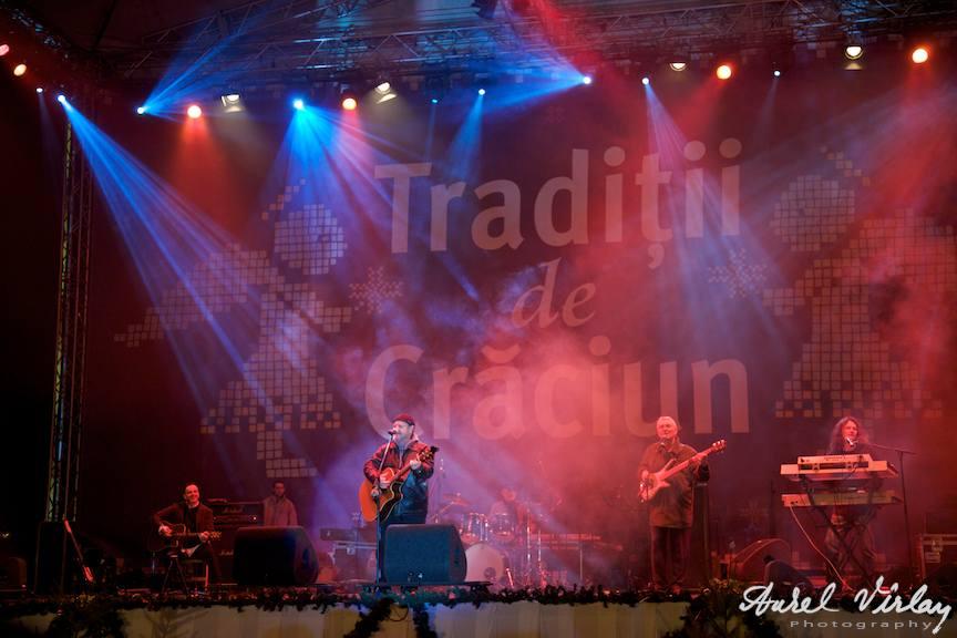 Traditii de Craciun si Nicu Alifantis in fotografii de concert-live