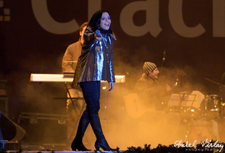 """Analia Selis in concertul """"Traditii de Craciun si Anul Nou"""""""