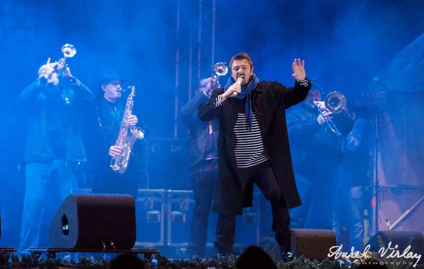 Horia Brenciu show la Festivalul de Craciun Herastrau