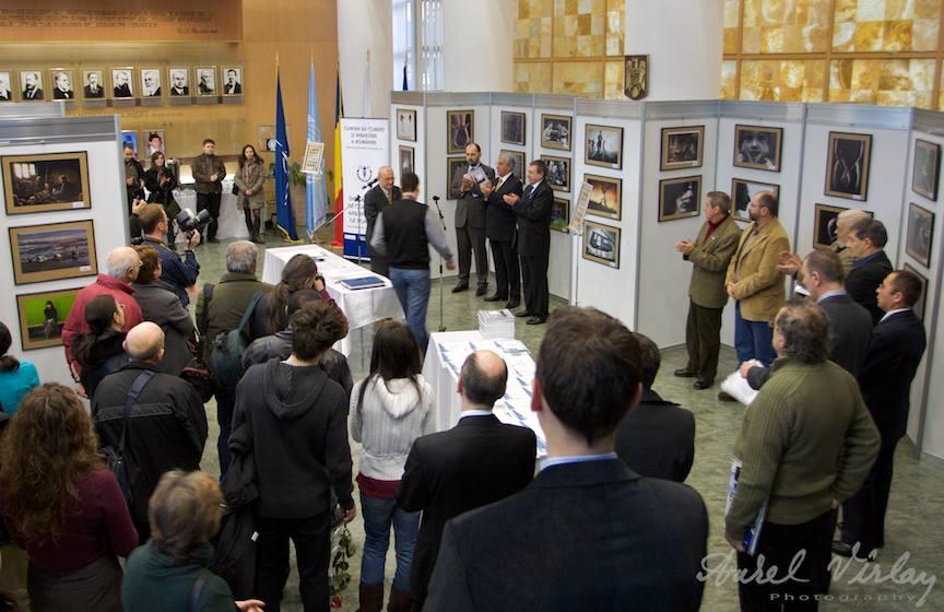 Expozitia fotografica Fotograful Anului - Camera de Comert si Industrie a Municipiului Bucuresti.