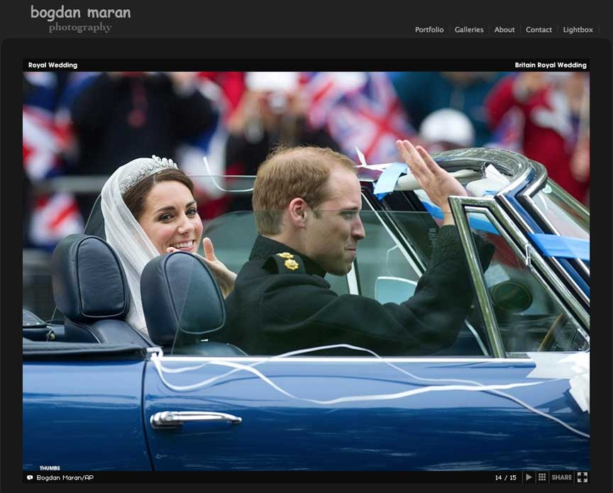 Plecarea mirilor: Printul William and Catherine Middleton