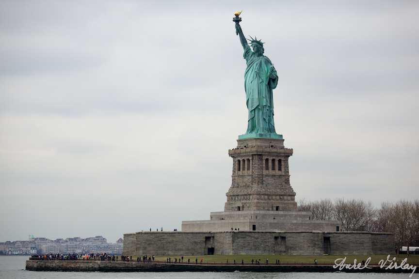 Fotografii-USA-statuia-libertatii