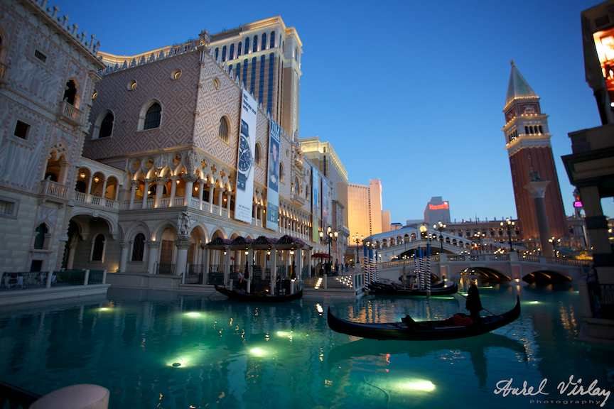 Las Vegas U.S.A. - The Venetian Hotel Casino *Grand Canal*