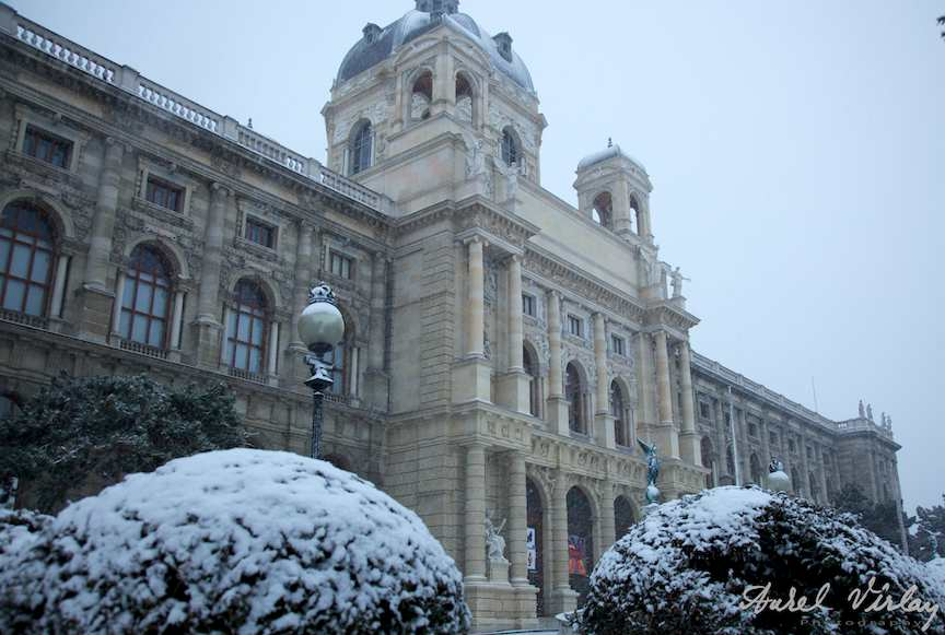 Muzeul Natural de Istorie - iarna Viena