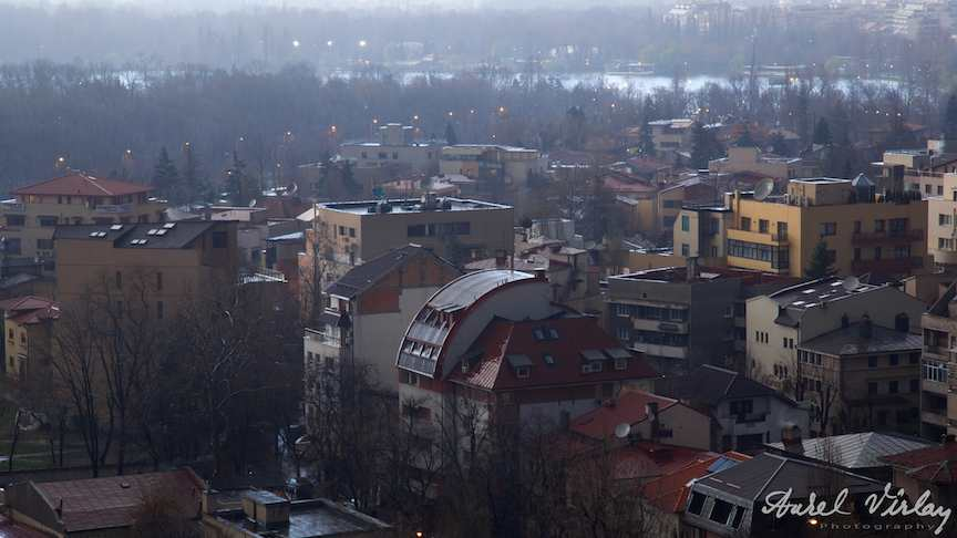 Fotografie aeriana Bucuresti.