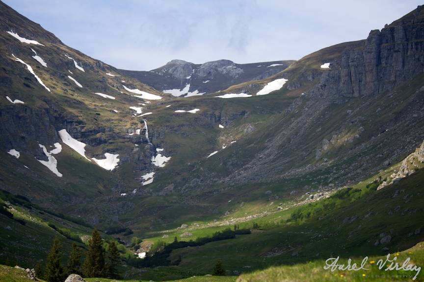Landscape Photography by Aurel Virlan. Cascada Obarsia Ialomitei.