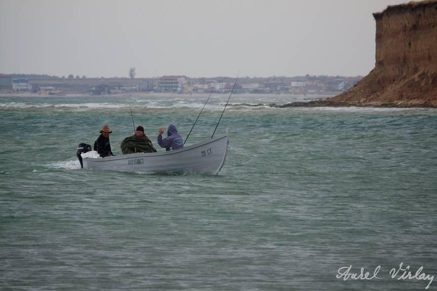 Fotografii-Vama-Veche-sosirea-pescarilor-cu-unditele-ridicate