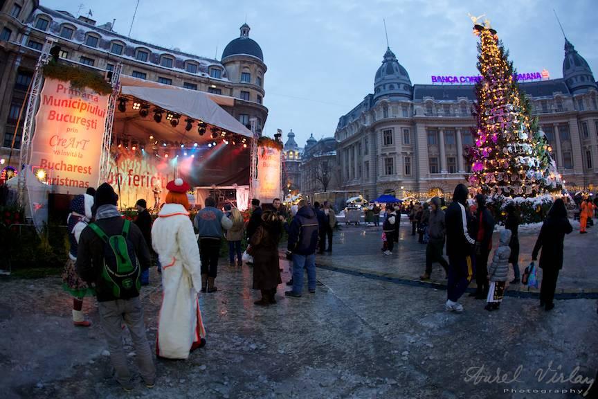 Bucharest Christmas Market Festival Sarbatori iarna Craciun Anul Nou