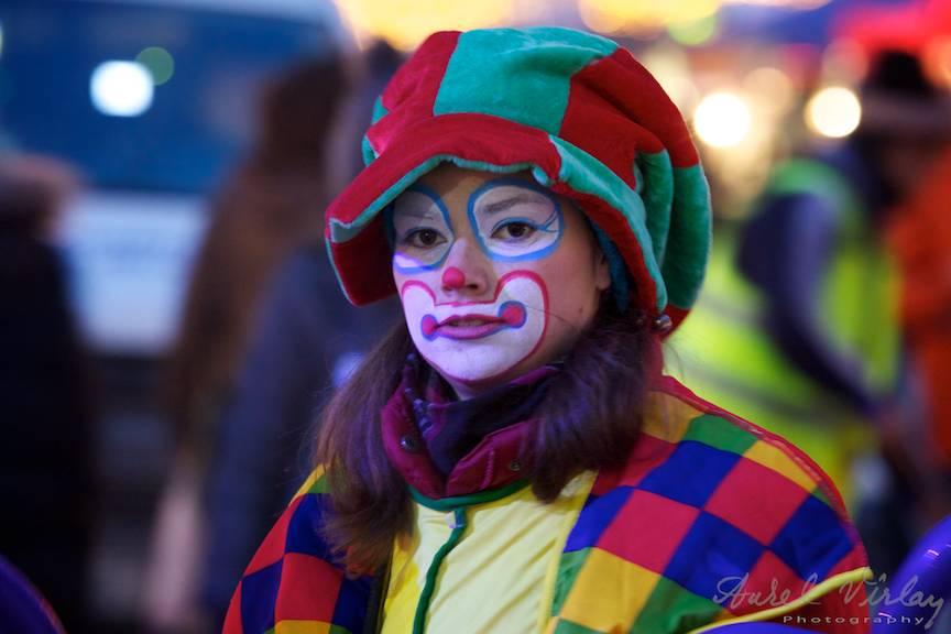 Clown festival sarbatori iarna Bucuresti