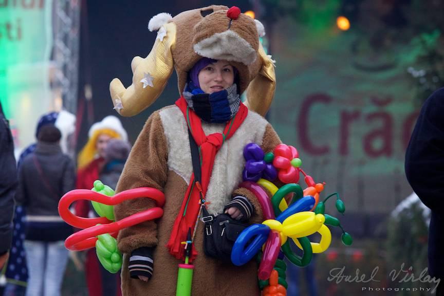 Portretul foto actrita ren _Bucharest-Christmas-Market