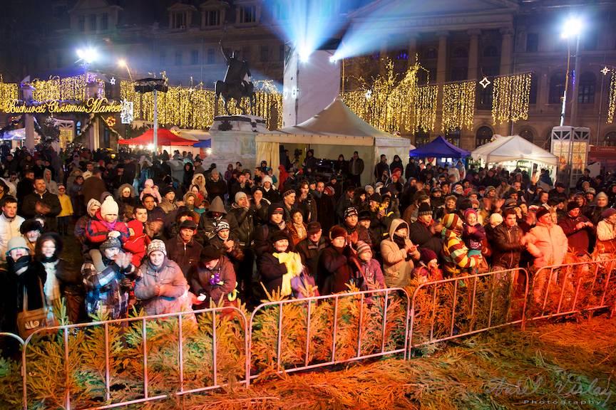 Fotografii festival Piata Universitatii_Bucharest-Christmas-Market-concerte-populare FotoAV