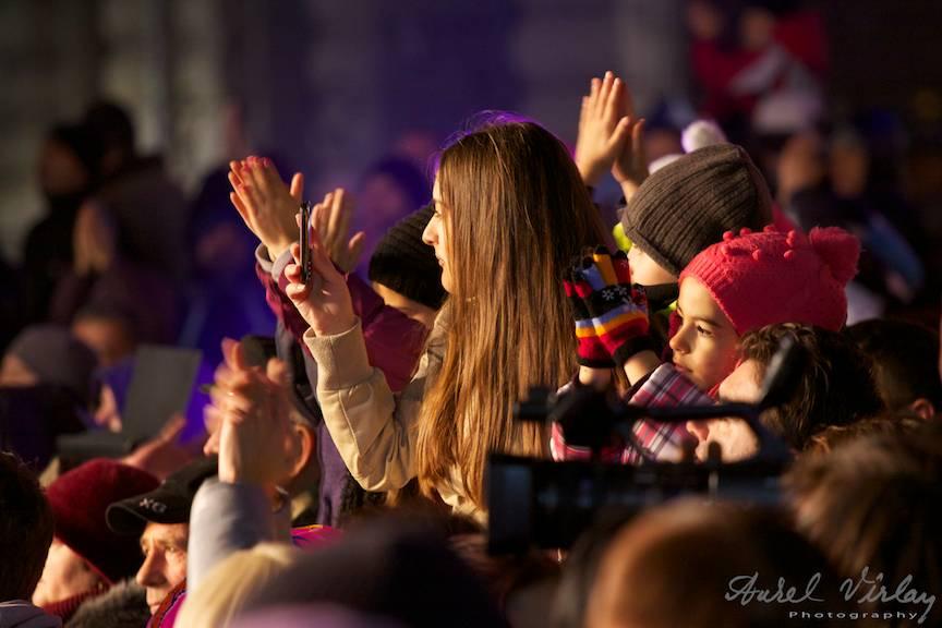 Fotografii atmosfera concerte Craciun Piata Universitatii Craciun Bucharest Christmas Market 26- 14