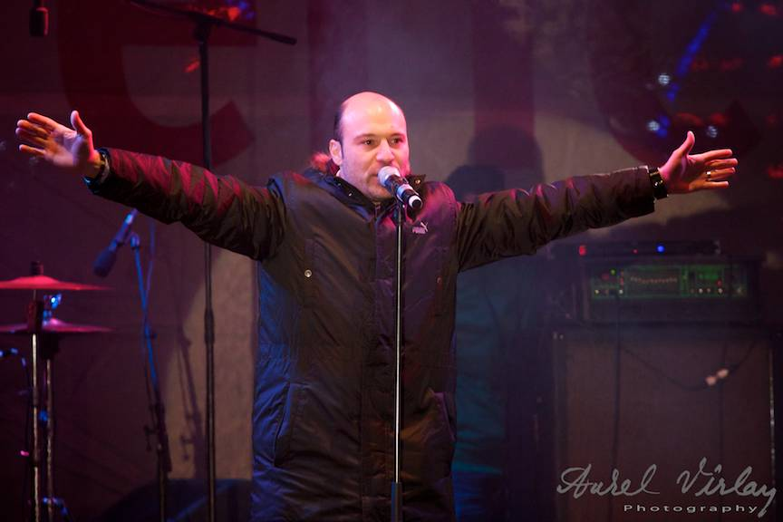 Portret foto concert Mihai *Mita* Georgescu - Voce Bere Gratis
