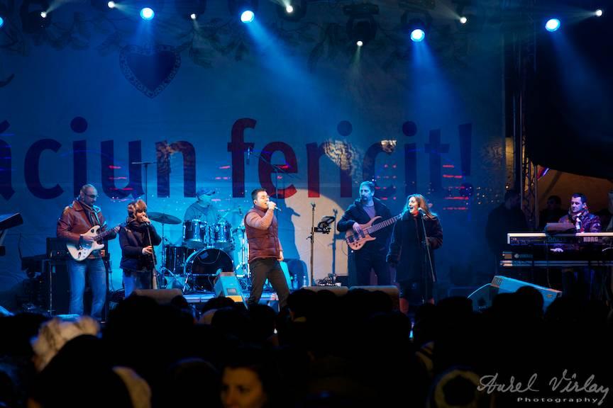 Fotografii concert Provincialii Piata Universitatii Bucharest Christmas Market 30