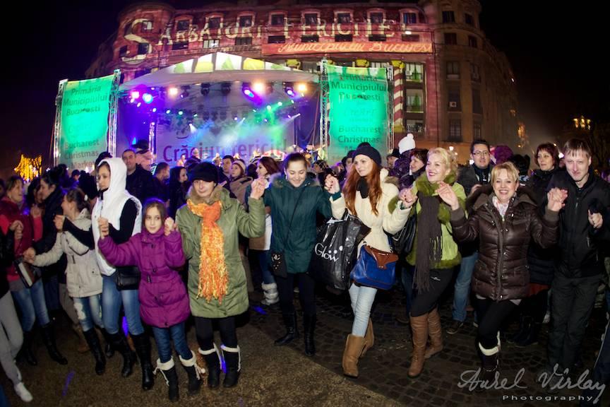 Fotoreportaj de strada Concerte Craciun Bucuresti