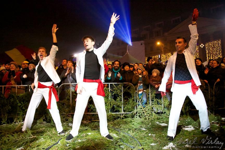 Fotografii balet Edi Stancu Piata Universitatii Craciun Bucharest Christmas Market 26- 42