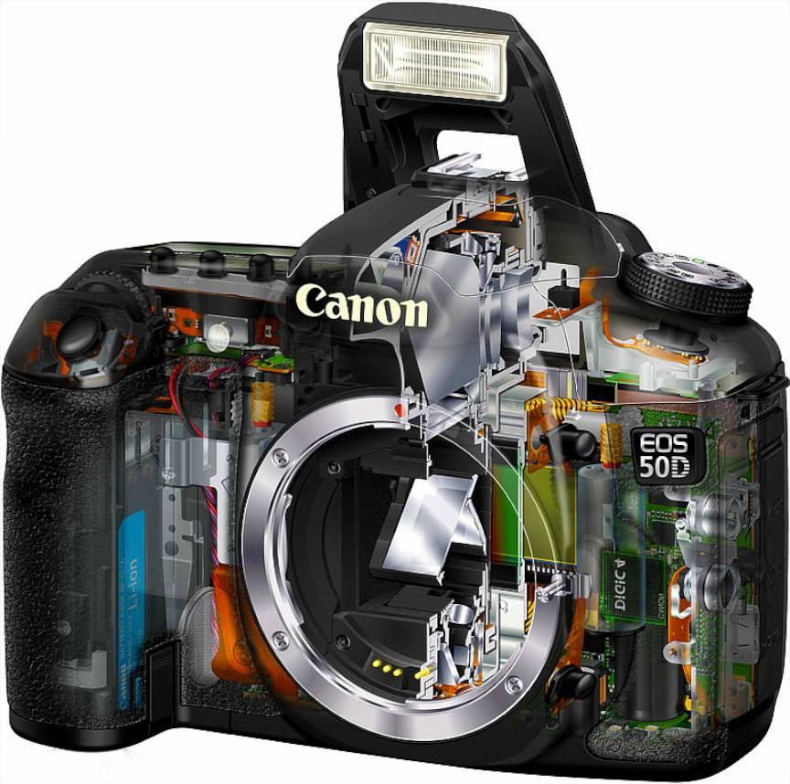 Vand-aparat-foto-Canon_EOS_50D- pret-rezonabil