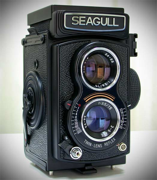 Aparat-foto-6x6cm-Seagull-copie-RolleiflexTLR
