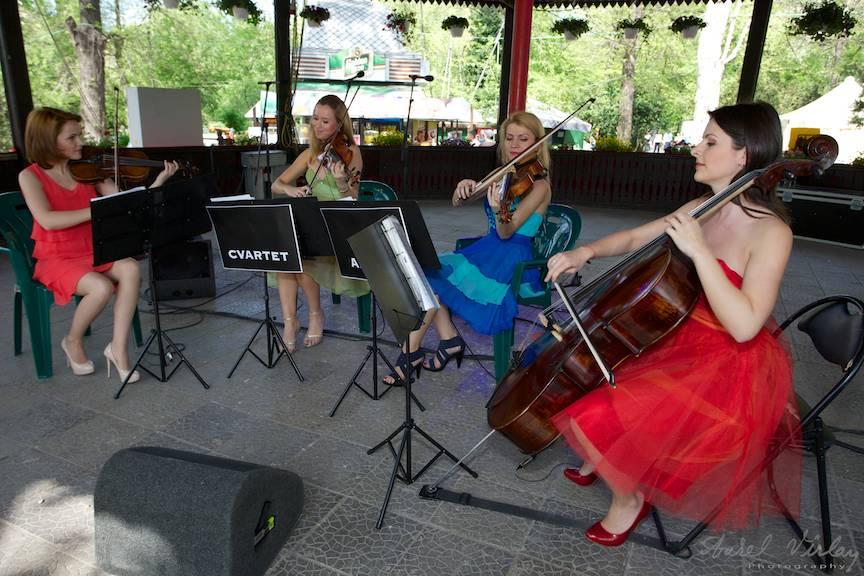 Fotografii-Cismigiu-Traditii-Flori-Sarbatori concert cvartetul Anima