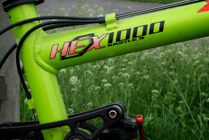 Mountain Bike Kastle Hex 1000 Race.