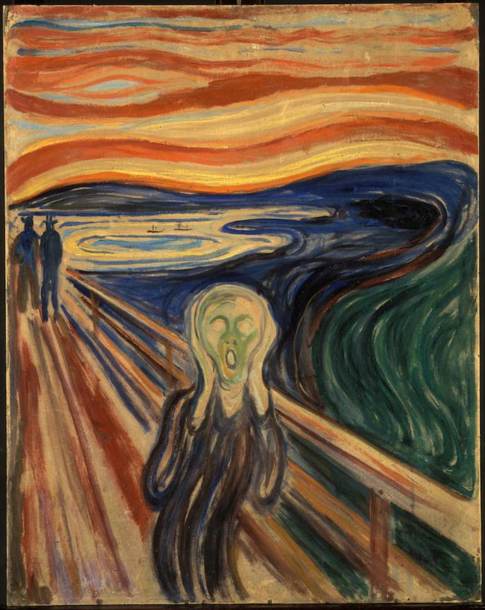 The-Scream Edvard-Munch painter -1