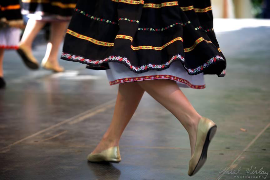 Detalii fotografice picioare dansatoare.