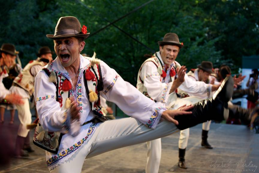 Fotografie close-up in iuresul dansului.