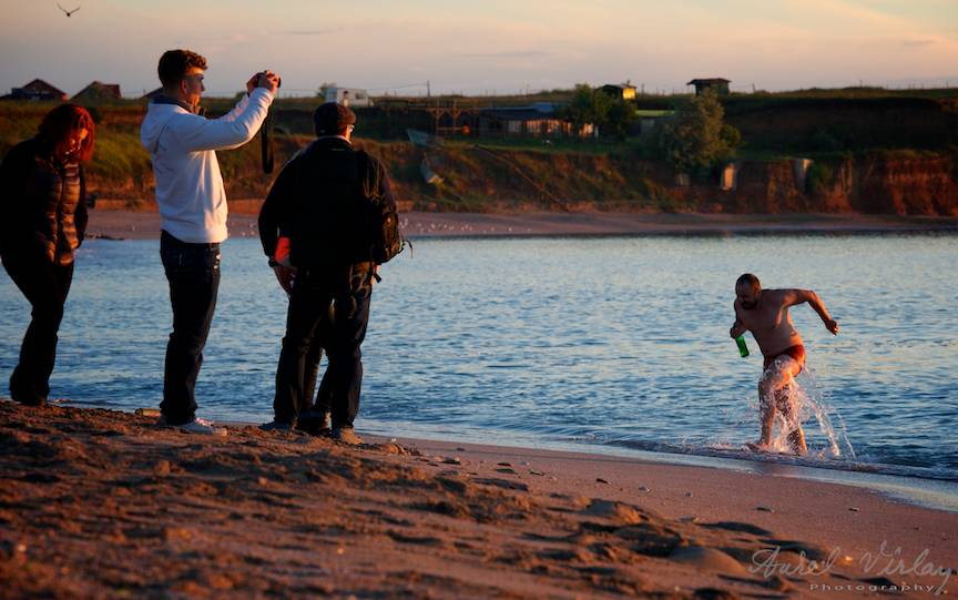 Vama Veche imagini fotoAV -9 fotoreportaj de plaja