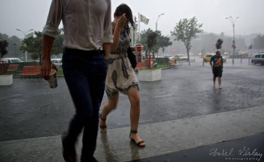 Iuresul ploii rapide in fotografie atipica.