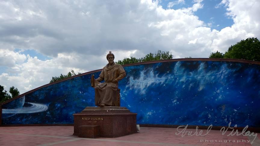 Fotografie statuie slatanul Emir Tamruk Samarkand-Uzbekistan-AV-1