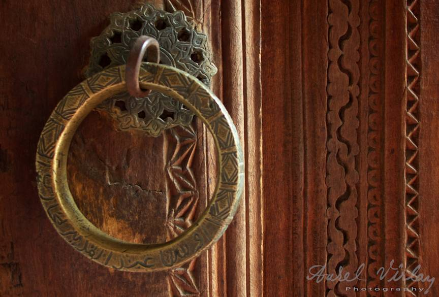 Detaliu Fotografic maner usa lemn Samarkand-Uzbekistan-AV-15