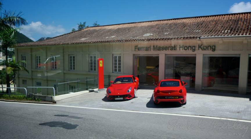 Show room Ferrari Maserati Hong Kong Jurnal Foto Asia 17