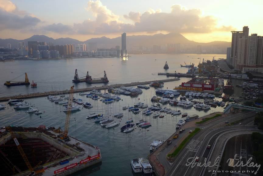 Peisaje foto port oras Hong Kong