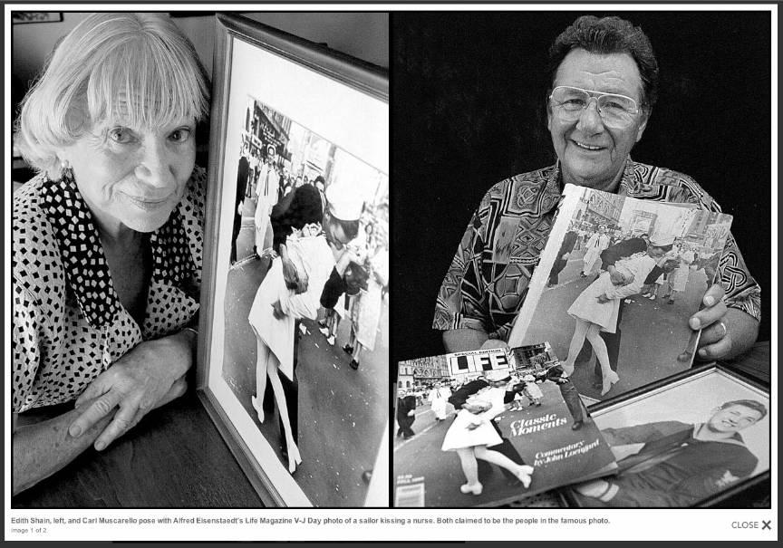 Cine-erau-tinerii-din-fotografia_Kiss-VJDay-Alfred-Eisenstaedt-Life-Magazine-Edith-Shain-Carl-Muscarello