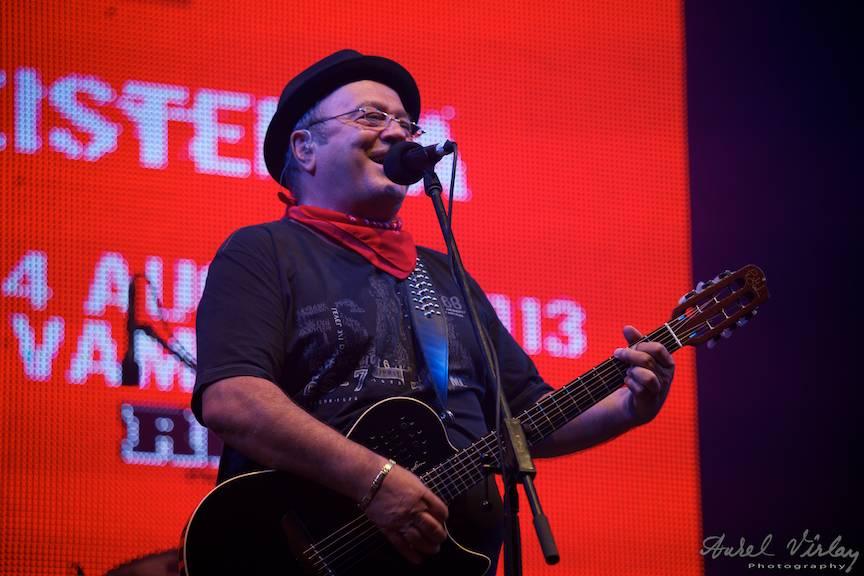 Portret foto Mircea Baniciu la Festivalul Folk You Vama Veche.