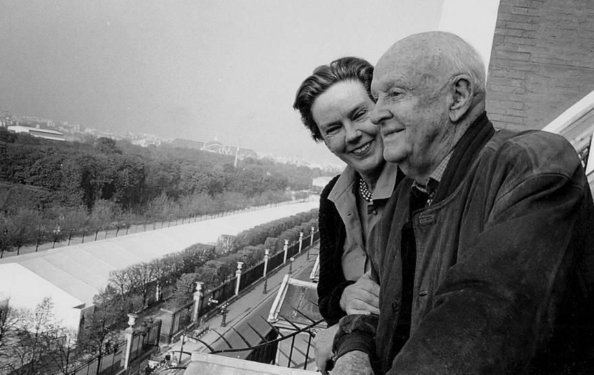 Cea mai frumoasa poveste de iubire intre doi fotografi: Martine Franck si Henri Cartier Bresson.