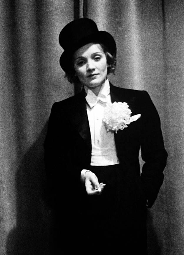 Portret foto Marlene Dietrich semnat Alfred_Eisenstaedt