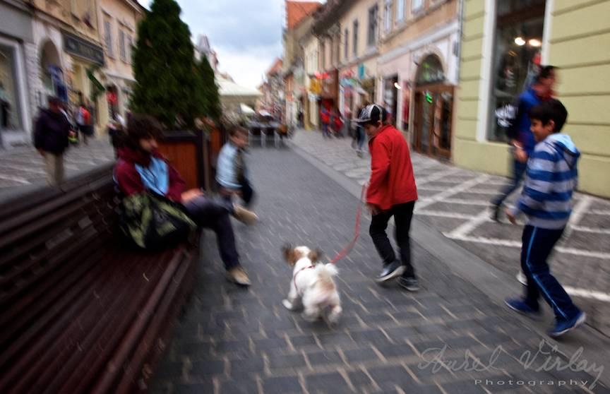 Fotojurnalism pe Strada Republicii Brasov.
