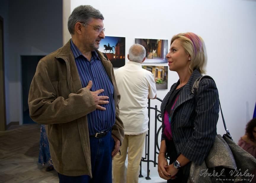 Fotograful  Andrei Pandele si Laura Cernahoschi de la B365.