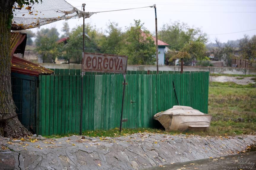 Prima impresie a unui fotograf inainte de acostare in Gorgova.