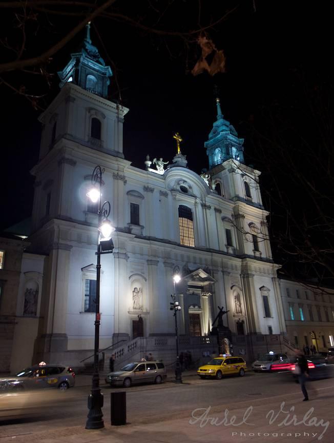 Catedrala din Downtown Varsovia.